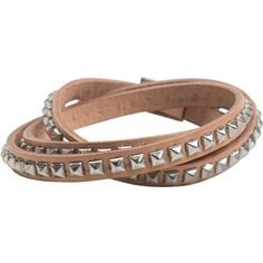 Lucca couture studded wrap bracelet ($38) ❤ liked on Polyvore