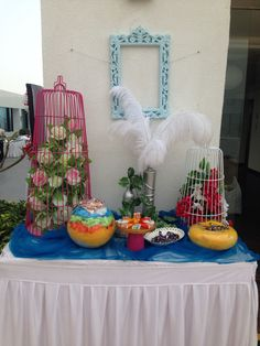 Corner decor for sundowner theme