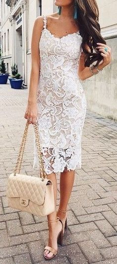 Lace dress to die for
