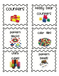 48 classroom labels for the primary classroom, easy to print on peal and stick shipping labels!
