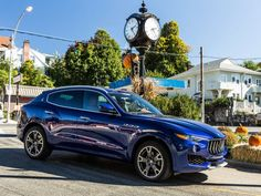 Maserati's Levante is powered by a 3.0L, V6 twin-turbo gasoline engine built by Ferrari. The SUV is available in two different engine configurations: 345hp and 424hp (Levante S).
