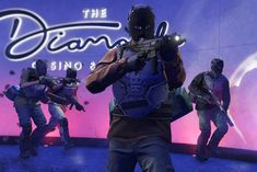 The Diamond Casino Heist is Now Available in GTA Online on Xbox One Gta Online, Red Dead Redemption, Grand Theft Auto, Honda Civic, Glitch, Gta 5 Games, Playstation, Joystick, Red Dead Online
