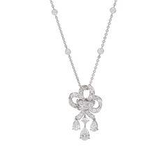 Fabergé Lustre Pendant #Fabergé #diamond #pendant