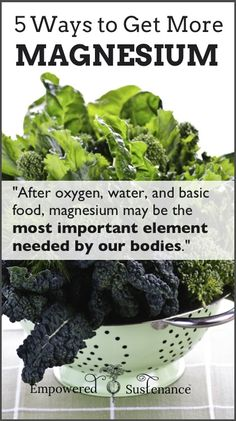 Easy, practical and effective ways to get more magnesium