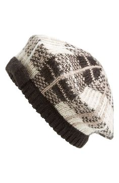 d433c2a02a9 kate spade new york  woodland plaid  beret available at  Nordstrom Tartan