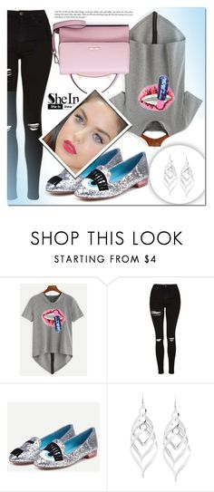 """""""Shein 1"""" by mini-kitty ❤ liked on Polyvore featuring Topshop, WithChic and shein"""