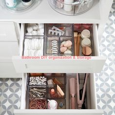 Whether used on their own or with The Home Edit All-Purpose Bin, these Organizer Bins let Container Store, Room Decor Bedroom, Diy Room Decor, Home Decor, Rangement Makeup, The Home Edit, Home And Deco, Home Organization, Makeup Drawer Organization