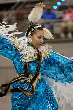 Ladies Fancy Shawl Dance by jwkeith, via Flickr