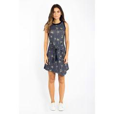 VESTIDO COLL DANDELION - lojawollner Overall Shorts, Casual, Dandelion, Overalls, Prints, Women, Fashion, Vestidos, Outfits