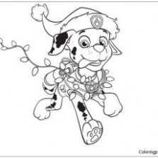 Christmas Coloring Pages Paw Patrol Graphic Paw Patrol Coloring Paw Patrol Coloring Pages Paw Patrol Christmas
