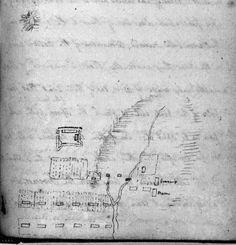 Elizabeth Macarthur's Diary: Early King map of Parramatta April 1790