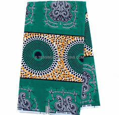 Wholesale Best Quality Supreme Wax Holland/ African Fabric/ Orange/Teal Ankara fabric/ African fabric Shop/African Fabric/ 6 yards WP757 by TessWorldDesigns on Etsy https://www.etsy.com/listing/275251364/wholesale-best-quality-supreme-wax