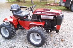 garden tractor 4x4 modifications | 4x4 wheel horse attracts me as well as the fact I like big tractors ...