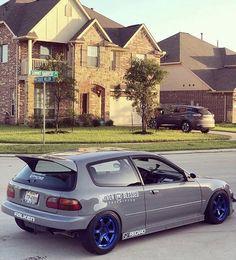 Cvic eg6 Honda Civic 1995, Honda Civic Si Hatchback, Civic Sedan, Honda Crx, My Dream Car, Dream Cars, Gas Saver, Civic Eg, Japan Cars