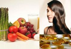 Vitamins are very essential for normal hair growth and maintenance of hair.