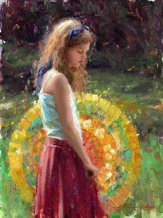 Paintings of children, artwork of Bryce Cameron Liston - BRYCE CAMERON LISTON