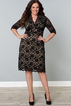 37 best LBD Plus Size Little Black Dresses images on Pinterest