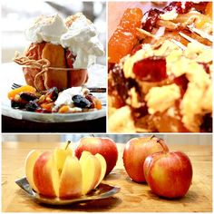 Baked apples with fruit recipe