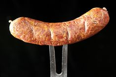 A recipe for Portuguese linguica sausage made with pork or wild boar and smoked over oak for several hours.