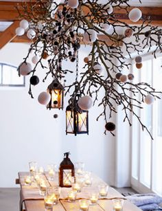 christmas decoration branches