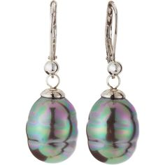 Majorica 10mm Baroque Pearl Drop Earrings ($68) ❤ liked on Polyvore featuring jewelry, earrings, pearl, majorica, baroque pearl drop earrings, majorica jewelry, hook earrings and baroque pearl jewelry
