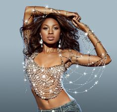 "Allyson Felix as Beyonce's ""Dangerously in Love"" (ESPN The Magazine)"