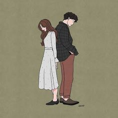 Flower art drawing doodles 66 Ideas for 2019 Cute Couple Drawings, Cute Couple Art, Cute Drawings, Manga Couple, Couple Cartoon, Chibi Couple, Anime Couples, Cute Couples, Cover Wattpad