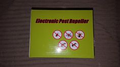 My Product Reviews and Thoughts: Pest Control Ultrasonic Pest Repeller Organic Repe...