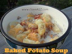 Easy Potato Soup Recipe: Baked Potato Soup!!