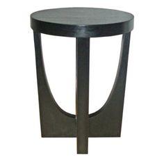 """Modern Side Table - Black. $60.  18"""" width"""