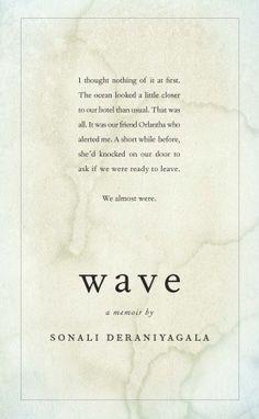 Wave, Sonali Deraniyagala, McClelland & Stewart.