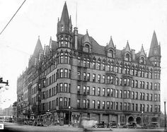 Victoria Hotel; Des Moines, Iowa.  This beauty was torn down in 1962.  What a sacrilege!