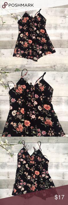 Forever 21 romper Forever 21 floral romper Forever 21 Dresses Mini