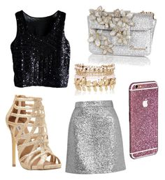 """""""Untitled #26"""" by jazzyjuuldance on Polyvore featuring Topshop, Steve Madden, River Island, Dsquared2, women's clothing, women's fashion, women, female, woman and misses"""