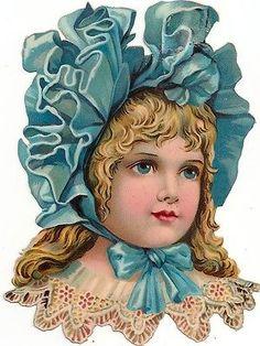 Scraps - Victorian Die Cut - Victorian Scrap - Tube Victorienne - Glansbilleder - Plaatjes