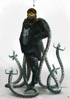 Dr Octopus by Oscar Römer