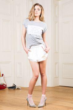 Graceland, Summer Collection, White Shorts, Diamonds, Tees, Women, Style, Fashion, Swag