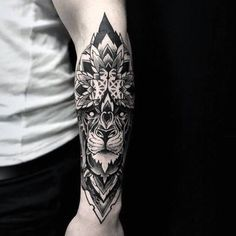 Floral Forearm Guys Tattoo Sleeve Ideas