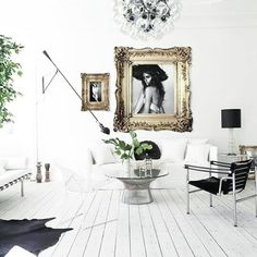 59 Black and White Living Room Decor with Minimalist Design Interior Design Inspiration, Home Decor Inspiration, Home Interior Design, Decor Ideas, Exterior Design, Room Ideas, Decorating Ideas, Vintage Interior Design, Design Ideas