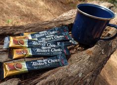 I don't go camping without instant coffee and neither should you! Nescafe Taster's Choice keeps those wildness mornings alive.   (I received free product in exchange for feedback.)
