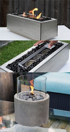 24 Best Fire Pit Ideas to DIY or Buy ( Lots of Pro Tips! ) 24 Best Fire Pit Ideas to DIY or Buy Sitting around an outdoor fire pit with loved ones, gazing at the warm flames under the starry night sk Cool Fire Pits, Diy Fire Pit, Fire Pit Backyard, Tabletop Fire Bowl, Fire Pit Table, Fire Pit With Table Top, Fire Pit Party, Fire Pit Grill, Fire Pit Propane