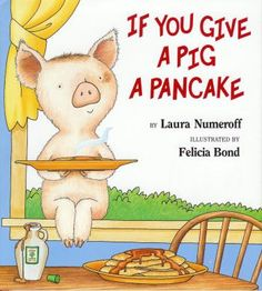 "Ideas & free downloads to go with ""If You Give a Pancake."" Wet vs. dry, articulation (/k/, /p/), if/then, etc."