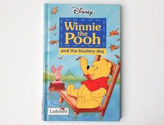 Vintage Ladybird Disney Winnie the Pooh Book, Winnie the Pooh and the Blustery Day, Gloss Hardback, 1995, 00799