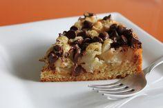 Десертный вихрь. Грушевый торт с шоколадом