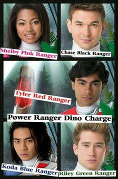 Dino Charge Main Team