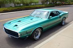 1969 Mustang Shelby GT350.