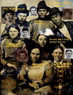 Billy the Kid – Jesse James Photo Album Native American Ancestry, American History, American Flag, Bill The Kid, Old West Outlaws, Famous Outlaws, Old West Photos, Photo Exhibit, Unusual Facts