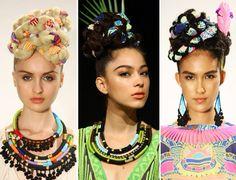 Mara Hoffman- fabric braids