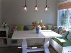 Awesome banquette seating ideas for your kitchen 22