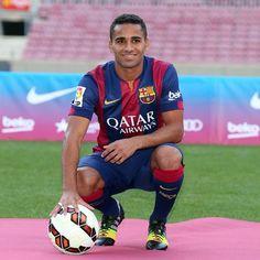 Douglas at the Camp Nou
